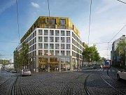 Soukromý developer Karlín Group staví v Holešovicích studentské bydlení.