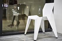 Oceněná židle Petra Novaque.