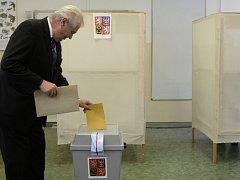 Miloš Zeman při volbách v roce 2014.