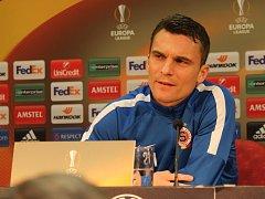 Kapitán fotbalové Sparty David Lafata.