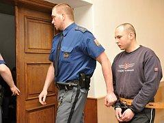 Za pokus o vraždu spolubydlícího mačetou si popelář Petr Zvonař odpyká ve vězení 16 let. Původní trest mu o dva roky zpřísnil odvolací Vrchní soud v Praze.