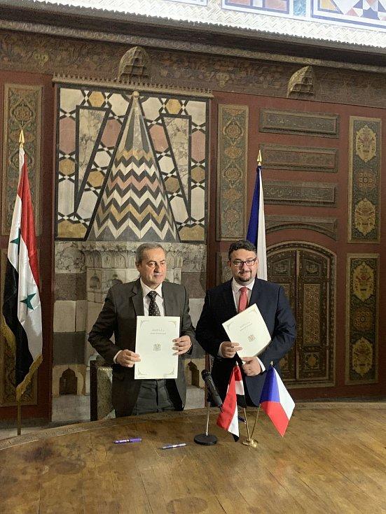 Smlouva o založení společné archeologické mise