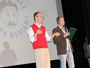 Vyhlášení ankety Nejsympatičtější brankář a předání Ceny humoru Vlasty Buriana v kině Aero.