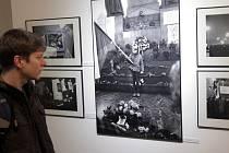 Zahájení výstavy fotografií Jan Palach,která se koná při příležitosti 45.výročí jeho tragického úmrtí. Vystaveno je 130 fotografií od 27 fotografů. Staroměstská radnice 3.února.