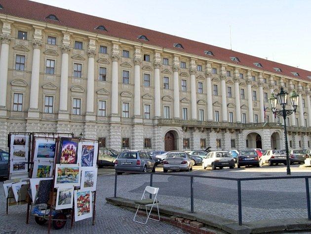 Sídlo ministerstva zahraničí v Černínském paláci na pražských Hradčanech.