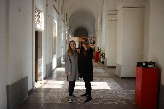 Ivana Kočíková a Lucia Markechová. Tlustá čára