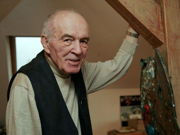 Malíř Karel Franta.