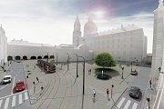 Malostranské náměstí - vizualizace