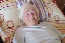 Pražská pamětnice Marie Šandriková vzpomíná.