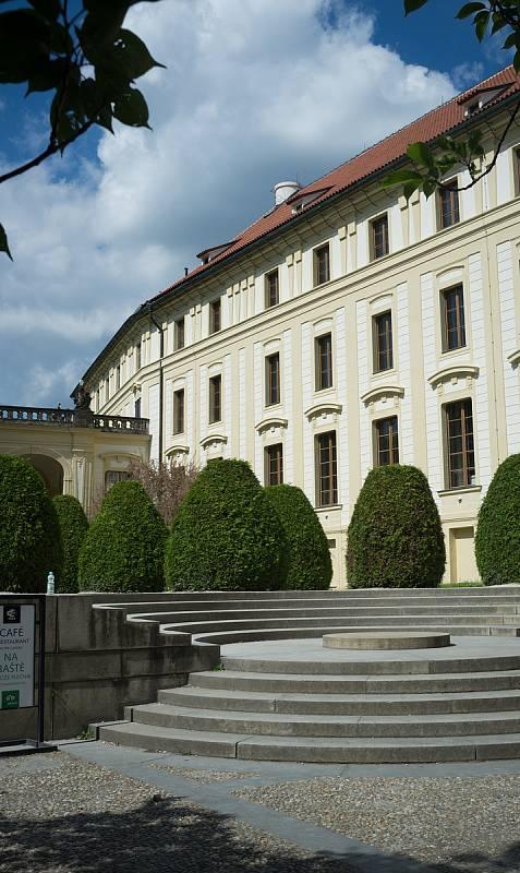 Praha neznámá, Pražský hrad, IV. nádvoří, 26.5.2017