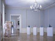 Praha, výstava Prague now v Clamm Gallasově paláci, Praha 23.5.2017