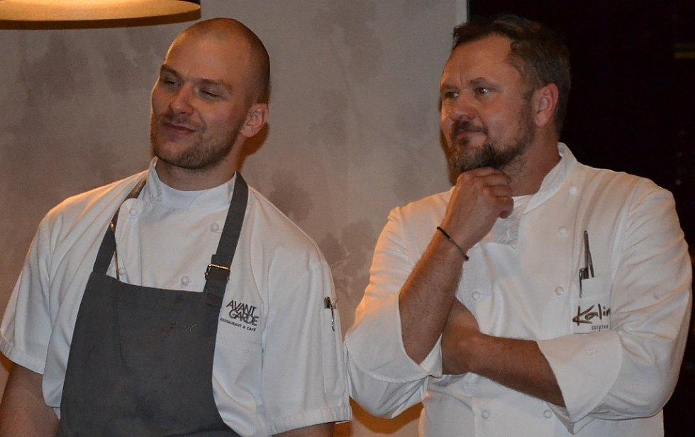 Ze zahajovacího večera třetího ročníku zimního Chef Time Festu.