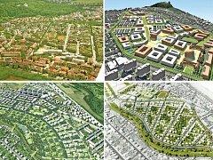 """Návrh změny územního plánu, jež by umožnila obytnou výstavbu na třináctihektarovém pozemku mezi Hvězdou a Divokou Šárkou, vychází ze čtyř variant. Ty vzešly z urbanistické soutěže """"Transformace industriálního území Ruzyně na novou obytnou čtvrť Prahy 6""""."""