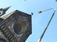 Lampy v Karlíně. Ilustrační foto.