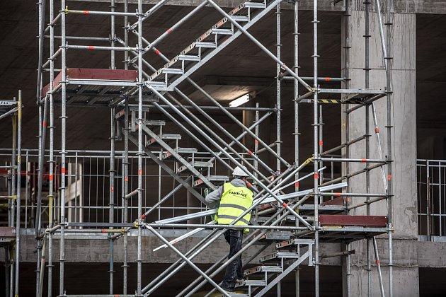 Výstavba v Praze. Ilustrační foto.