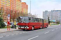 Autobusový den Pražské integrované dopravy 2019 v Letňanech.