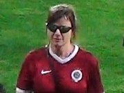 Pražská policie pátrá po fanoušcích Sparty, kteří vnikli na hrací plochu a přerušili pohárové utkání se Suboticou.