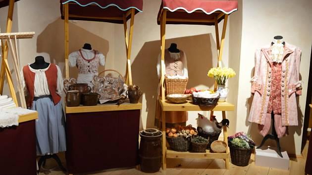 Ve ctěnickém zámku na vás čeká zajímavá výstava o řemeslech z pohádek.