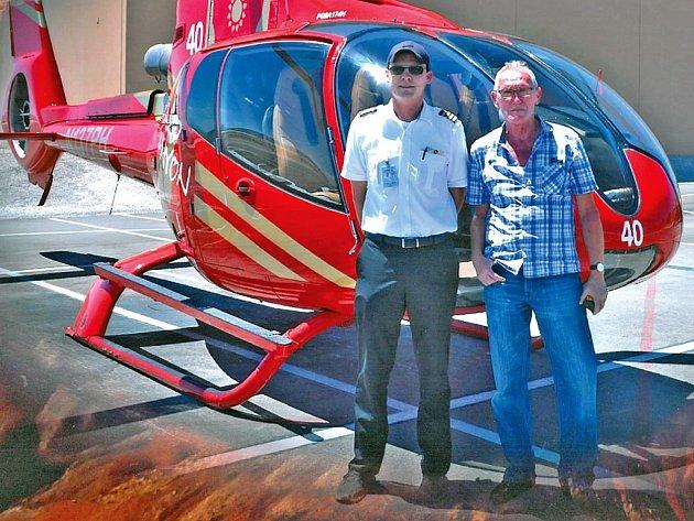 Ivan Bican je již řadu let trvalým rezidentem USA. Snímek je z výletu do legendárního Grand Canyon.