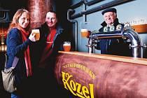Pivovar Velké Popovice je jednou z deseti zastávek 20,3 kilometru dlouhého pochodu.