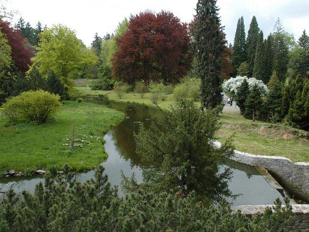 Průhonický park.