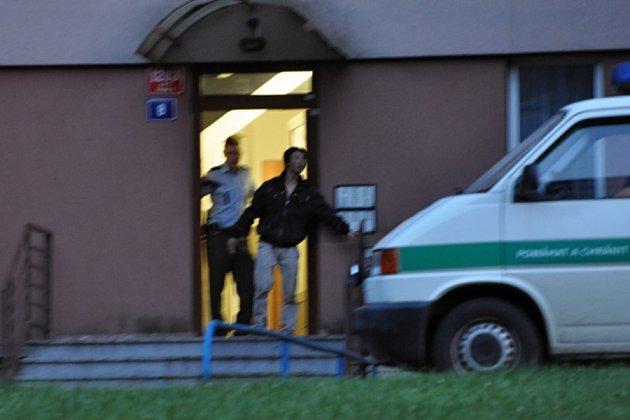 Policejní zásah v Krči