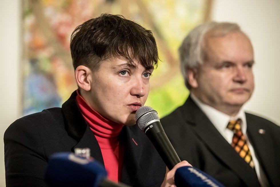 Ukrajinská politička Nadija Savčenková.