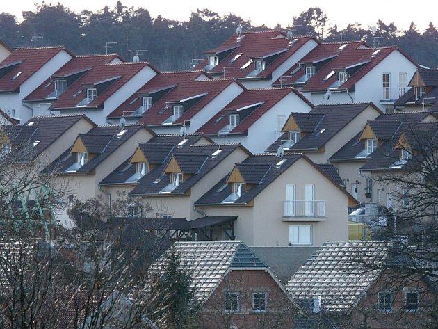 Bytové domy. Ilustrační foto.