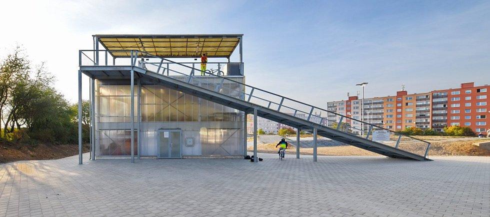 Nominace na České ceny za architekturu. Startovací rampa BMX od Ondřeje Tučka.