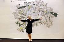 Pražská primátorka představila návrh Metropolitního plánu.