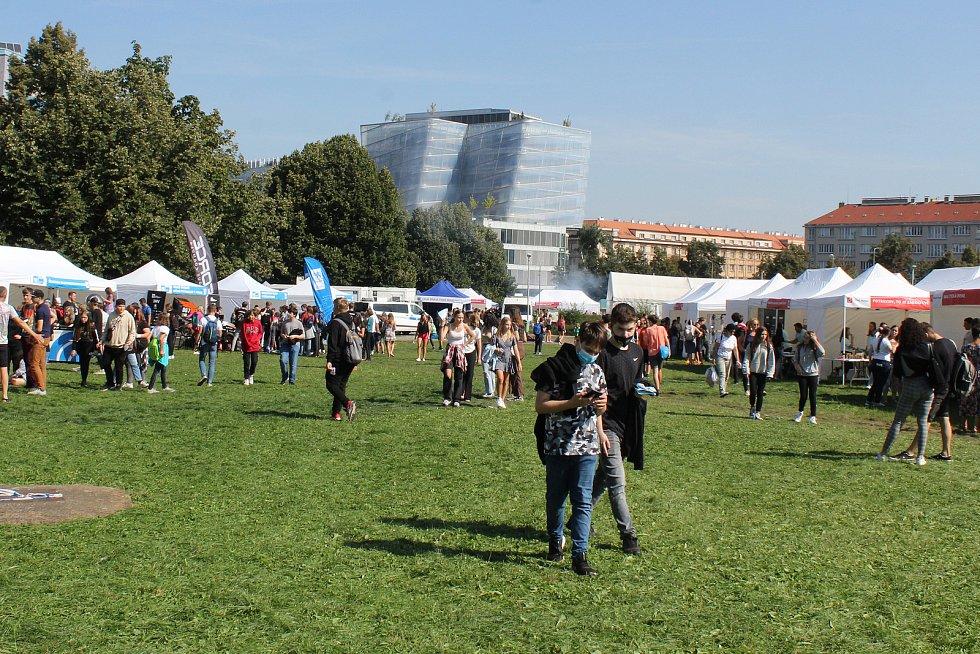 Z festivalu Vědafest 2021.