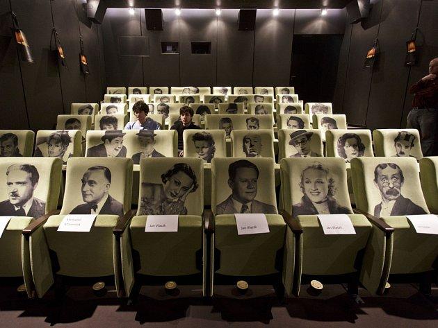 Kinosál Lucerny. Ilustrační foto.