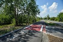 Nová cyklostezka.