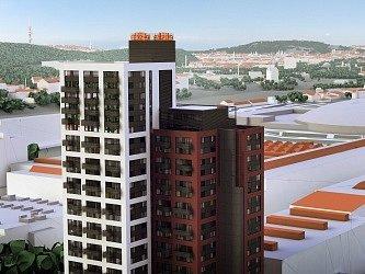 V Praze-Vysočanech vyrůstá nejvyšší bytový dům v Česku. Podnikatel Vladimír Lederer tam se společníky zahájil výstavbu budovy, která bude mít 25 pater, výška domu bude kolem 90 metrů. Celková investice do projektu s názvem Rezidence Eliška činí přibližně