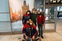 Beachvolejbalista Ondřej Perušič se po historickém úspěchu v Dauhá vrátil zpět do Prahy.