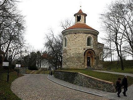 Rotunda sv. Martina na Vyšehradě zkonce 11.století.