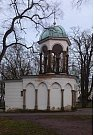 Kaple Božího hrobu na Petříně před rekonstrukcí.