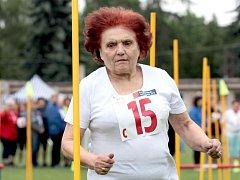 5.ročník Sportovních her seniorů na Stadionu mládeže Na Kotlářce.