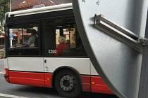 Autobus pražské MHD. Ilustrační foto.