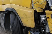 Nehoda kamionu. Ilustrační foto.