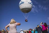 Dva plynové balony vzlétly 12. září z pražské Letenské pláně v rámci oslav 50. výročí balonclubu Praha.