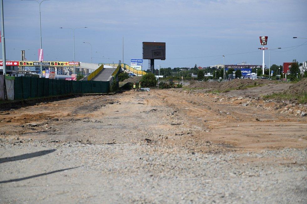 Zahájení stavby parkovacího domu P+R Černý Most III.