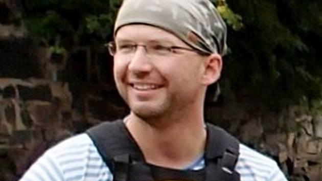 IT technik a vodák Tomáš Petržilka.