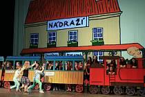 Dětská opera Praha vystoupí na Nové scéně ND s představení Jedeme vlakem