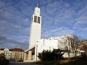 Kostel sv. Václava ve Vršovicích.
