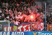 FC SLovan Liberec -SK Slavia Praha.
