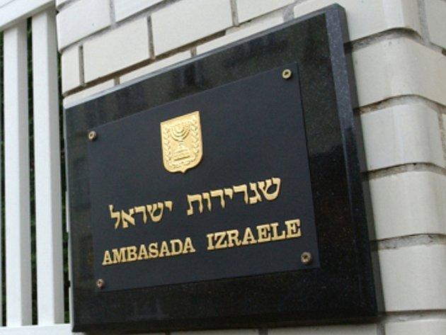 Ambasáda Izraele. Ilustrační foto.