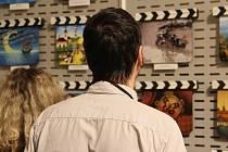 Výstava filmových klapek v Senátu. Ilustrační foto.