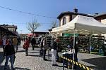 Pražská tržnice v Holešovicích otevřela zeleninový trh pod širým nebem.