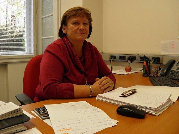 Dluhová poradkyně Alena Doubková, která pracuje v obecně prospěšné společnosti Poradna při finanční tísni.